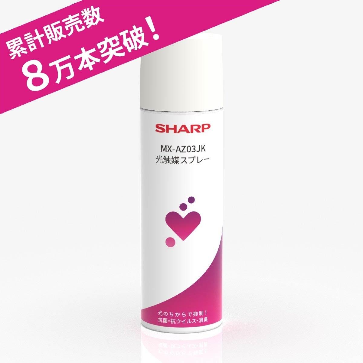 消臭・抗菌・抗ウイルス・防汚・防カビ  光触媒スプレー