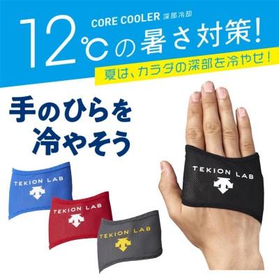 【限定販売】暑熱対策ギア コアクーラー(両手用1セット)〔デサント製 DAT-9000〕
