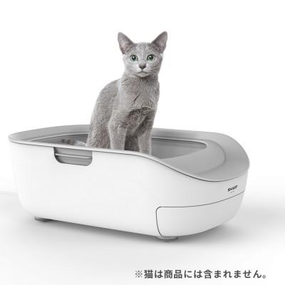 猫用システムトイレ型「ペットケアモニター」